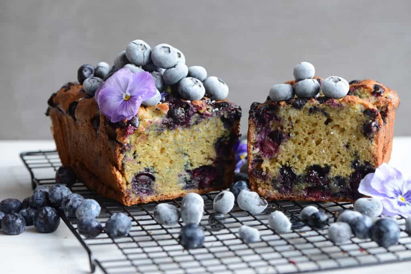 Blueberry Loaf Background Prime Ingredients Unveiled